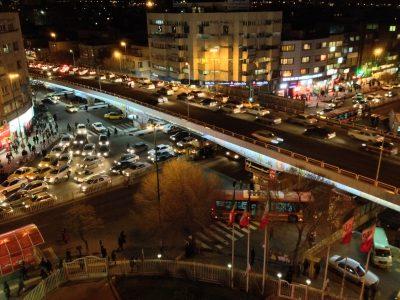 Imam Avenue & Azadi Boulevard, Iran (Image: Flickr / Alan Cordova)