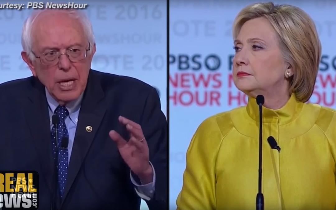Democratic Debate: Sanders Attacks Clinton/Kissinger Vision for Perpetual War