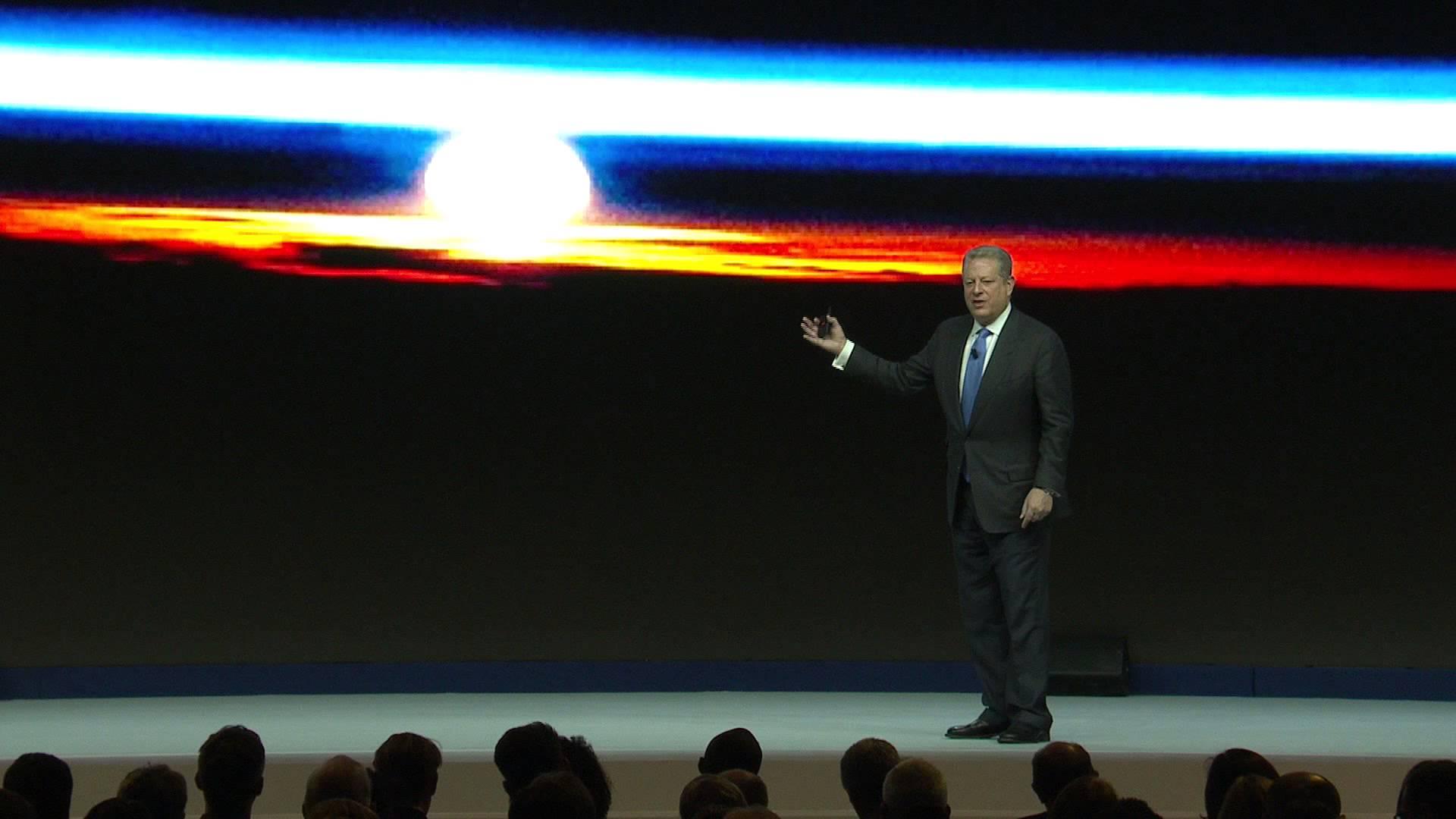 Al Gore Moves to the Bright Side