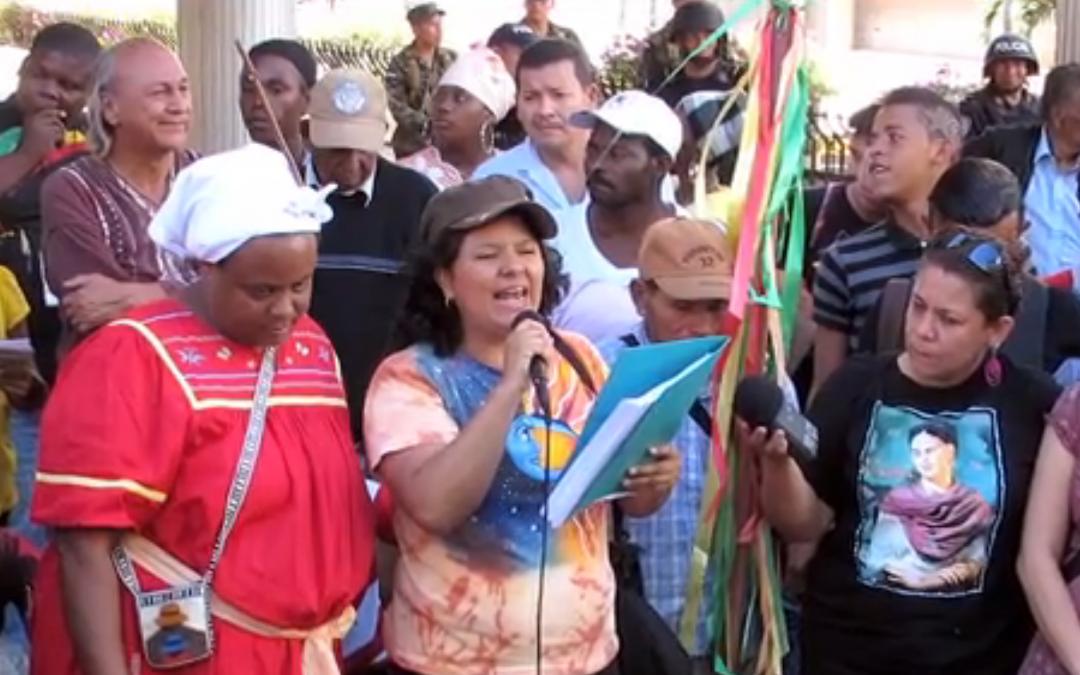 Remembering Berta Cáceres, Assassinated Honduras Indigenous & Environmental Leader