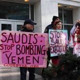stop-bombing-yemen-saudi-protest