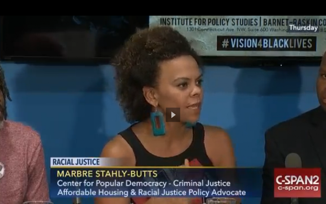 C-SPAN: The Emerging Racial Justice Agenda