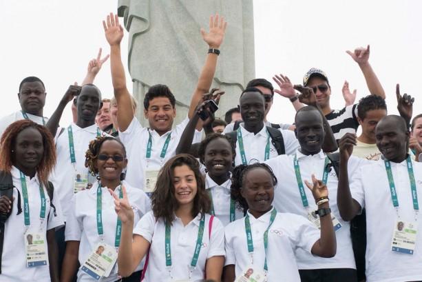 Team Refugee (Photo: IOC / Olympic.org)