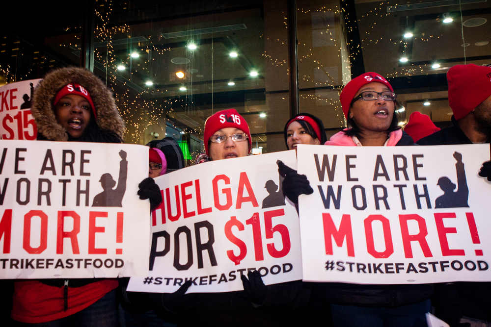 Explaining the Rise in Median Wages