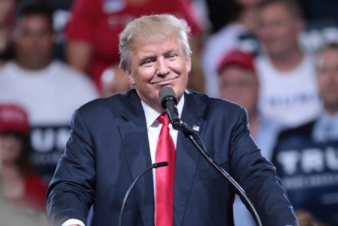 Trump Smiling