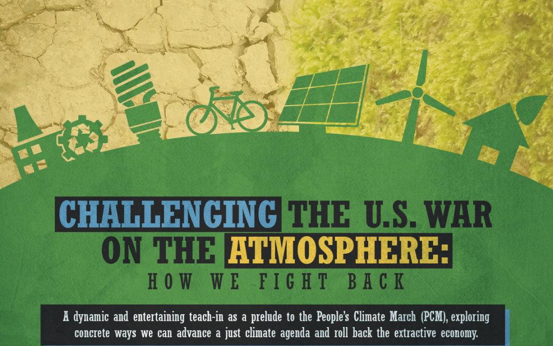 Challenging the U.S. War on the Atmosphere: How We Fight Back
