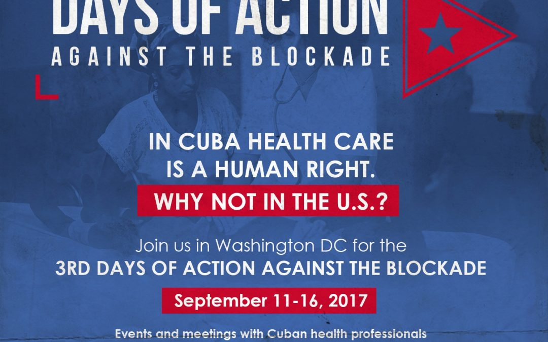 The Blockade Against Cuba & The Human Right to Healthcare