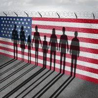 Immigrants-Border-Wall