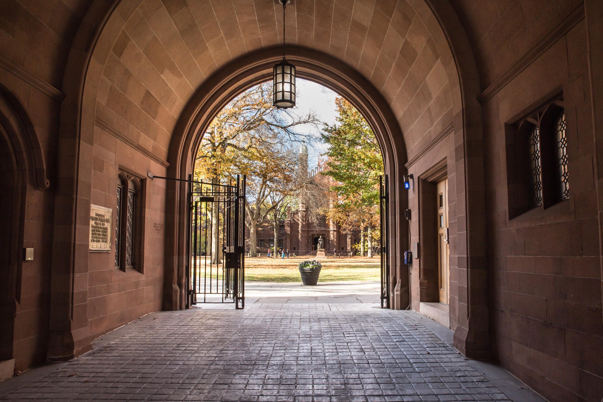 Yale University Gates