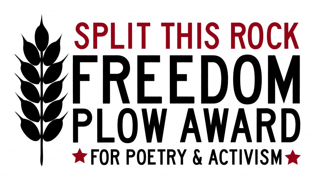 Freedom Plow Award for Poetry & Activism 2017