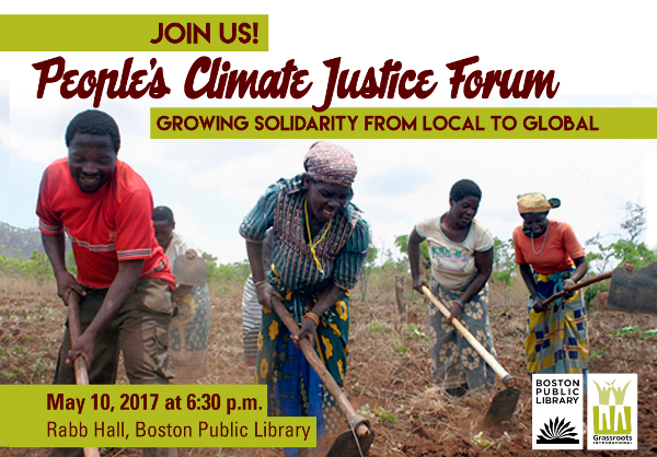 People's Climate Justice Forum