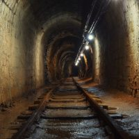 mine-tunnel-underground-train