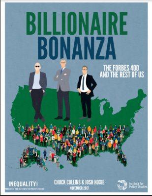 Report: Billionaire Bonanza 2017