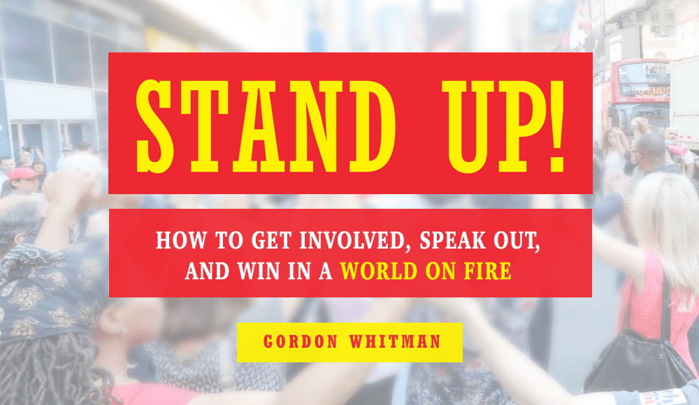 Author Event: Stand Up!
