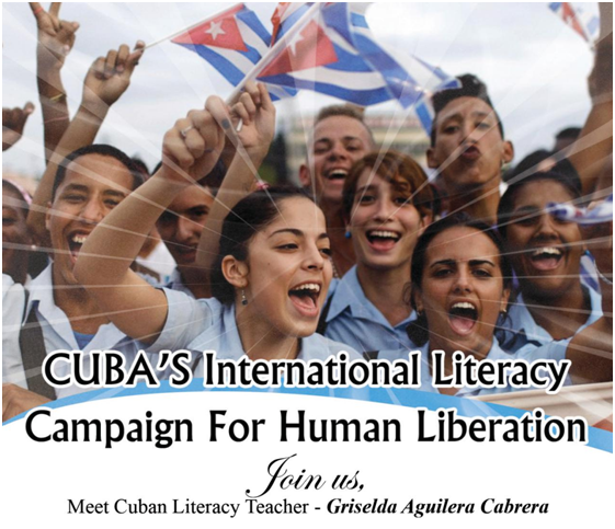 Literacy for Human Liberation: Griselda Aguilera Cabrera Speaks in DC