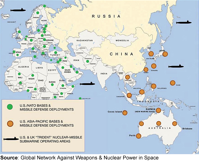 u s foreign military bases are not in defense of u s national or global security they are the military expression of u s intrusion in the lives of