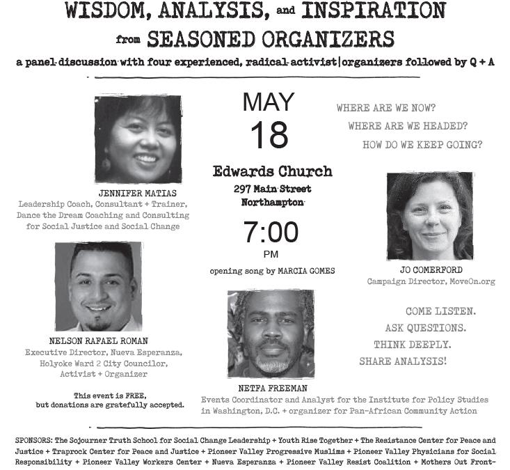 Wisdom, Analysis and Inspiration from Seasoned Organizers