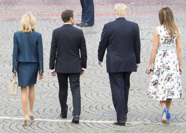 Emmanuel Macron Was Supposed to Be the Anti-Trump. He's Not.