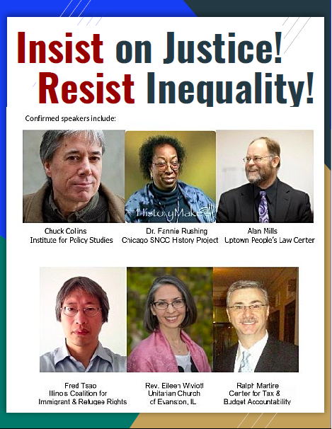 Insist on Justice! Resist Inequality! Conference