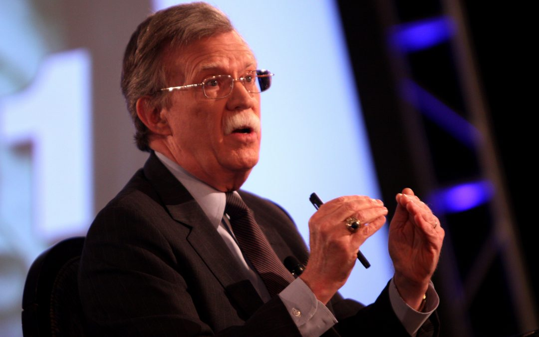 John Bolton's Terrifying First Day in the Trump White House